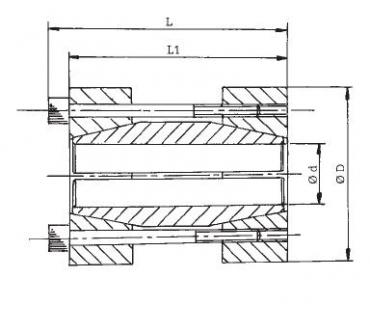 Upínací tuhá spojka RCK 95