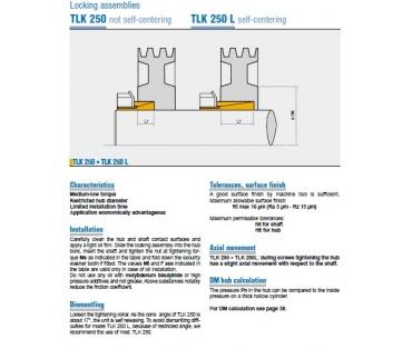 TLK 250 a TLK 250 L