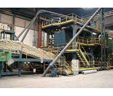 Řetězy pro výrobu izolačních materiálů - dle tovární normy