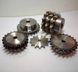 Řetězová kola s nábojem a disky
