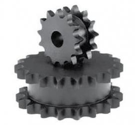 Řetězová kola disková pro 2 jednořadé řetězy