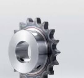 Řetězová kola s indukčně tvrzeným ozubením s otvorem + drážkou + šroubem