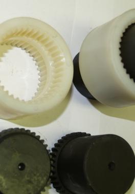 GF-GFA-GFAS pružné spojky s polyamidovou nebo ocelovou objímkou