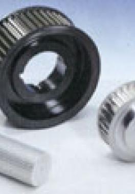 Ozubené řemenice HTD taper-lock fosfátované + ozubené tyče